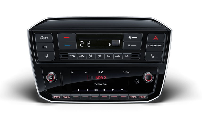 VW UP! Radio mit RDS-Funktion